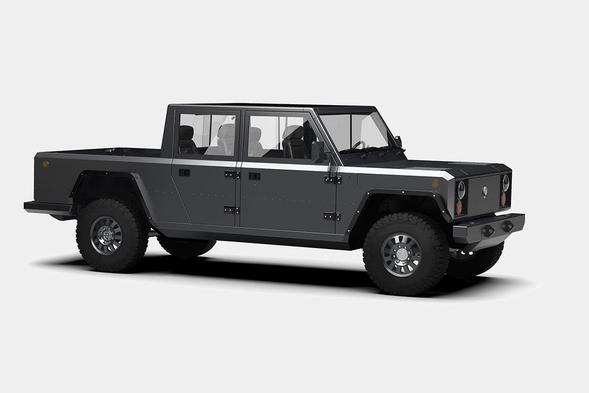 B2 electric pickup truck Bollinger luxury cars - Luxe Digital