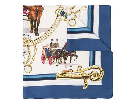 men Hermès scarf - Luxe Digital