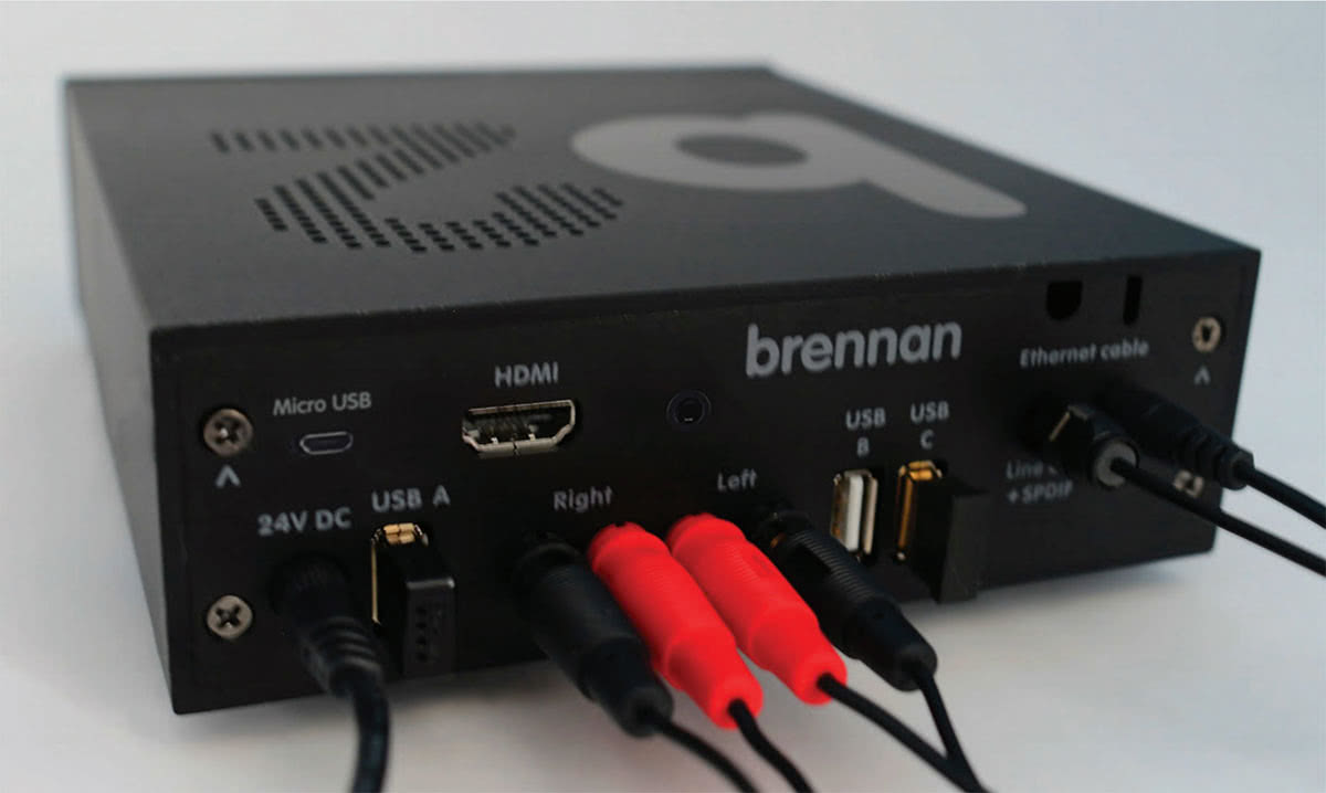 Brennan B2 Review CD player connections - Luxe Digital