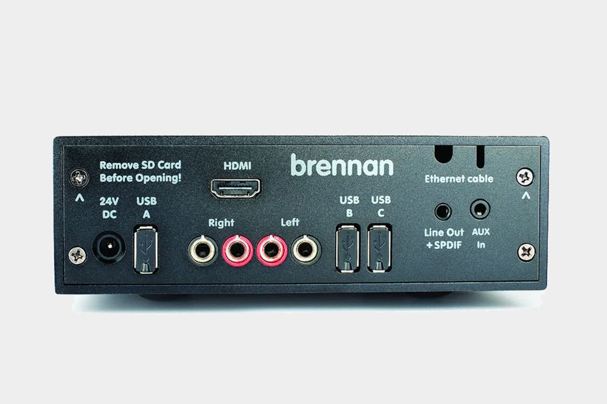 Brennan B2 Review input and output - Luxe Digital