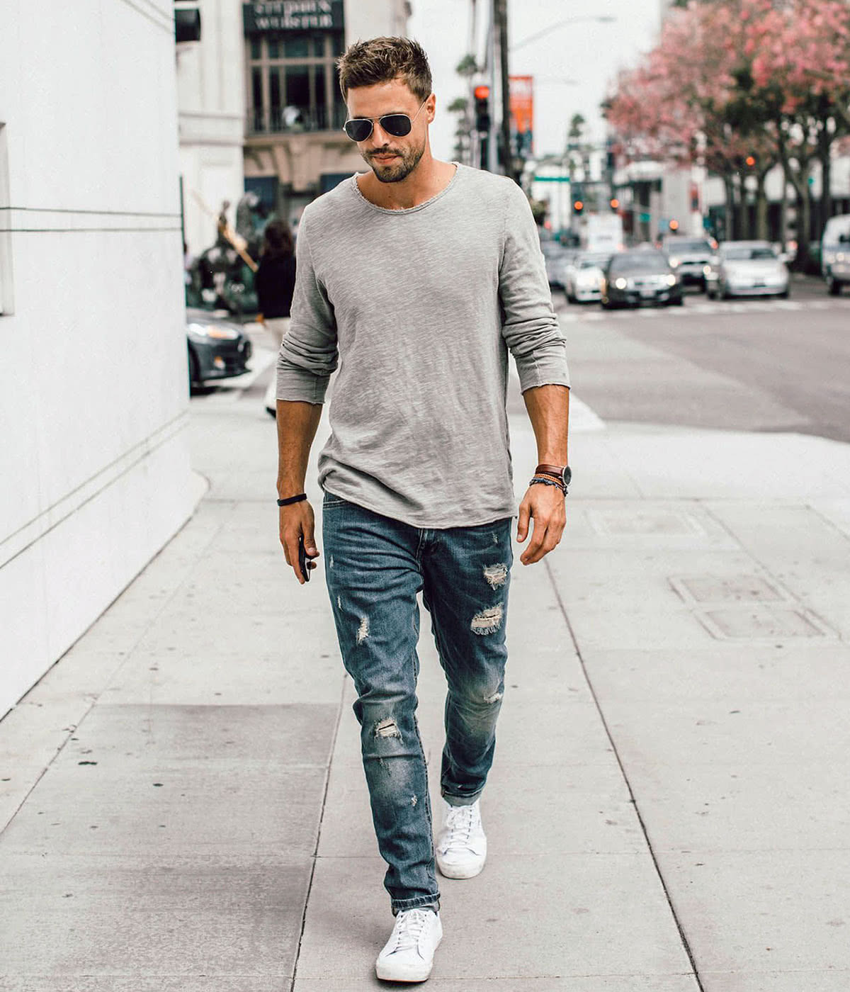 Casual dress code men street style - Luxe Digital
