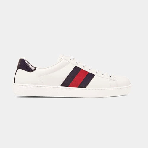 Casual dress code men style designer Gucci sneakers - Luxe Digital
