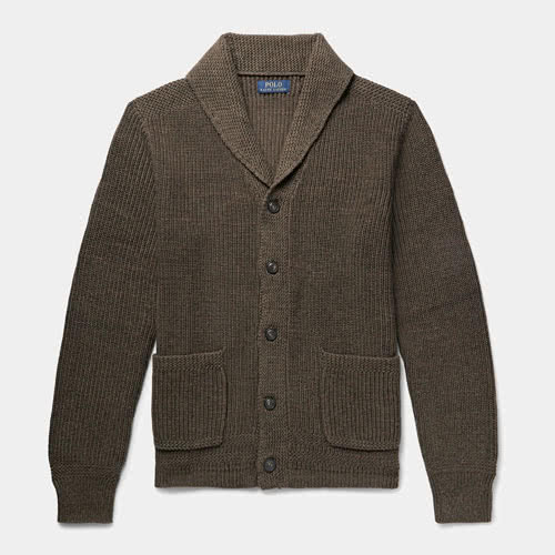 Casual dress code men style Polo Ralph Lauren knitwear cardigan - Luxe Digital