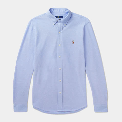 Casual dress code men style Polo Ralph Lauren shirt - Luxe Digital