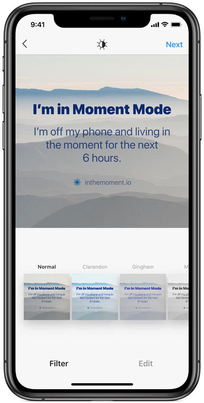 Wellness luxury technology mobile app Moment - Luxe Digital