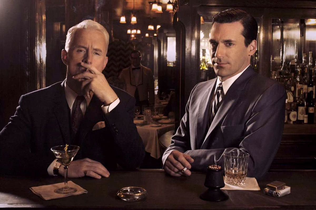 Mad Men cocktail attire after 5 luxury - Luxe Digital