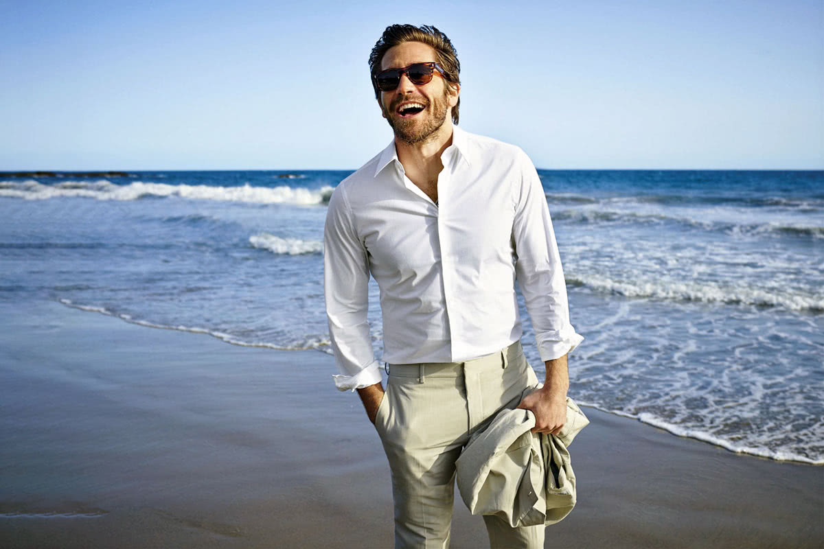 wedding cocktail attire men beach - Luxe Digital
