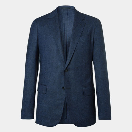 Tommy Hilfiger Men's Modern Navy Whool Blazer