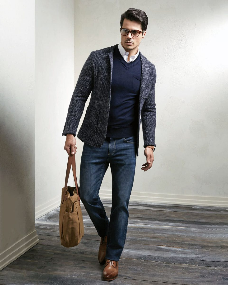 A very polished smart casual look for Spring and Autumn