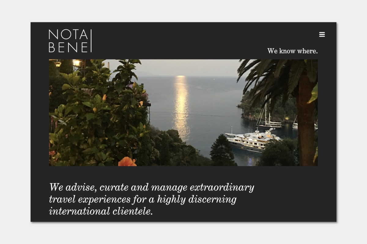 Best Luxury Concierge companies Nota Bene - Luxe Digital