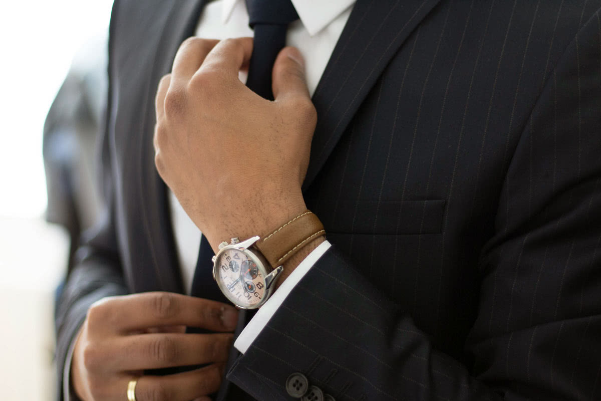 business professional attire office men style - Luxe Digital