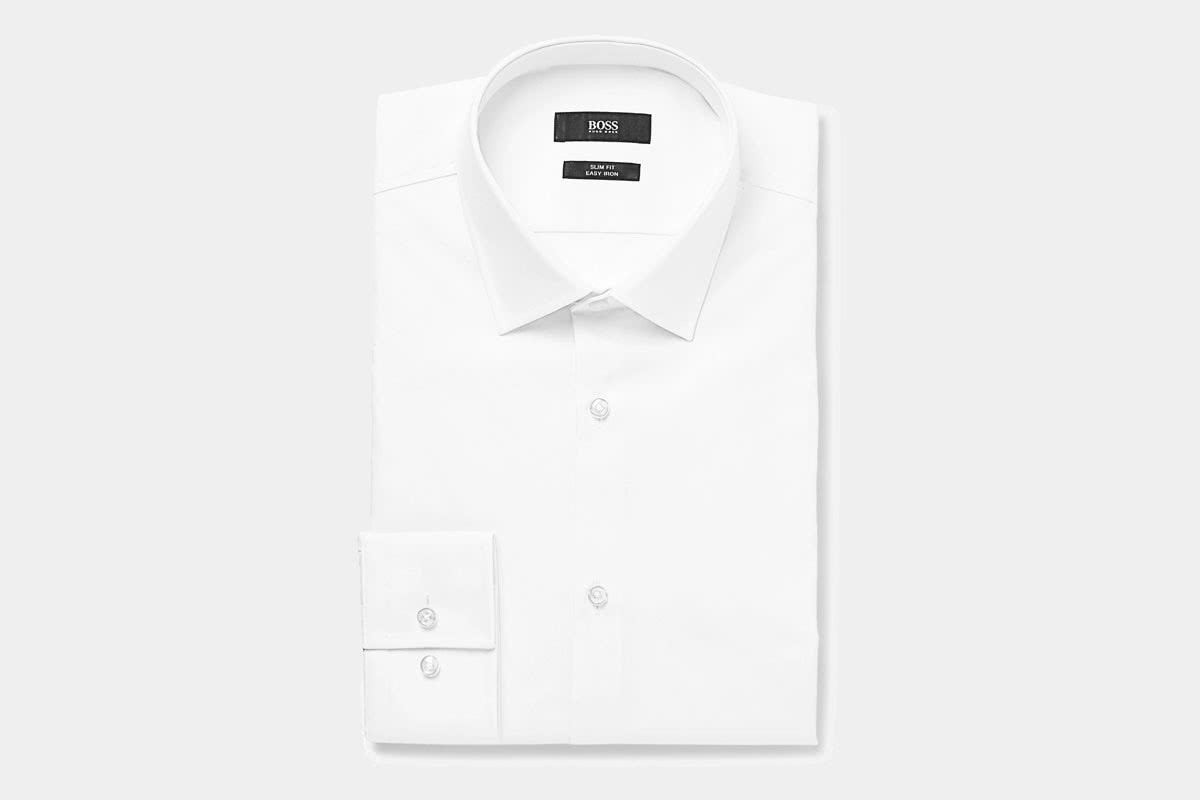 business professional men shirt Hugo Boss luxury - Luxe Digital