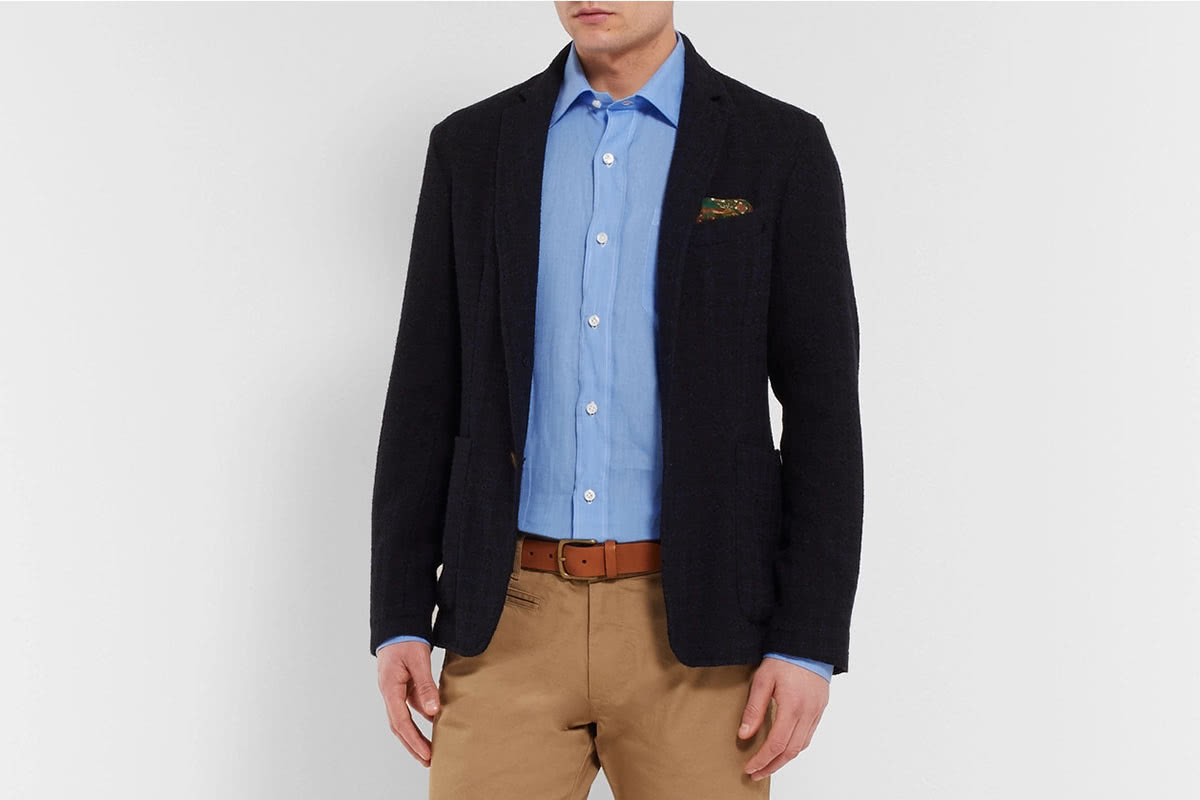 Rubinacci bespoke suit blazer - Luxe Digital