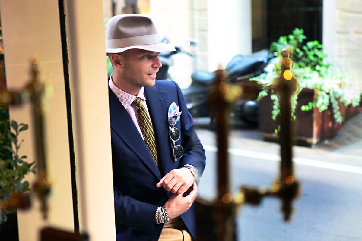 Rubinacci bespoke suit Luca Milan - Luxe Digital