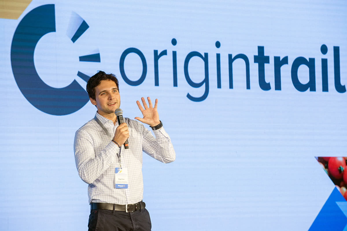 OriginTrail global supply chain blockchain Ziga Drev - Luxe Digital