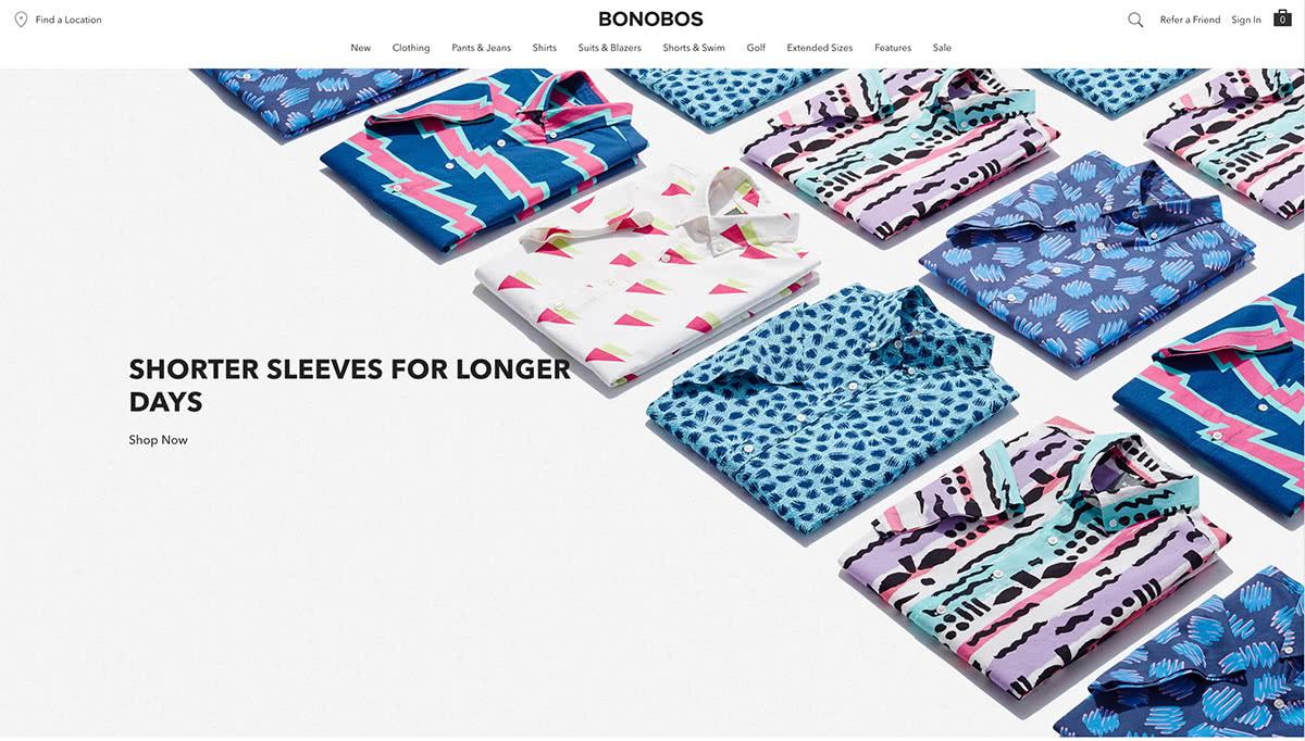 best direct to customer brands Bonobos men fashion - Luxe Digital