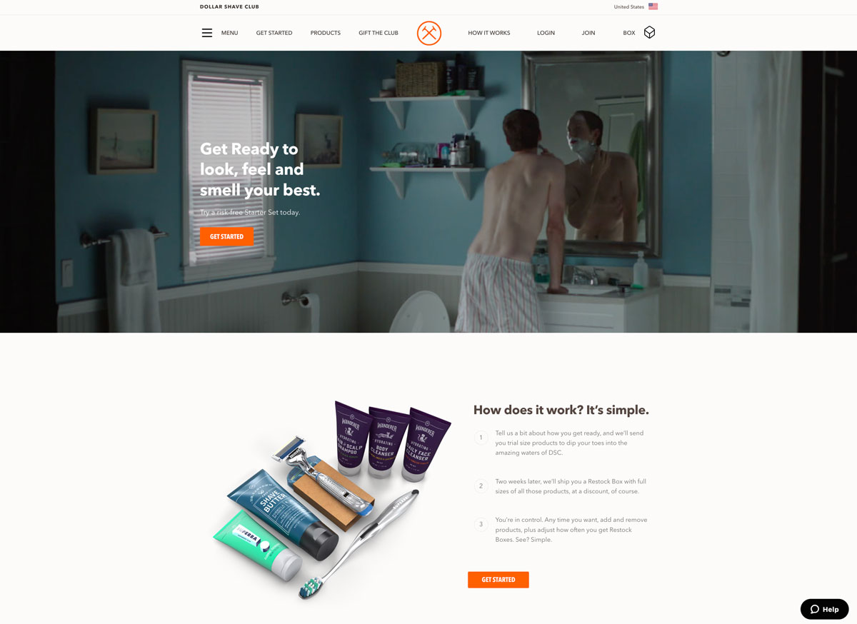best direct to customer brands Dollar shave Club - Luxe Digital