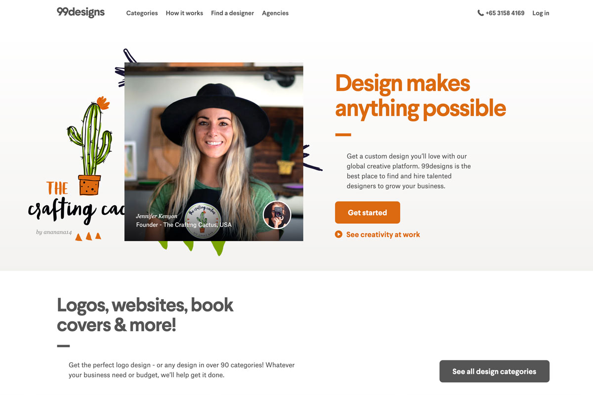 best Shopify brand design service freelancers hire on 99designs - Luxe Digital