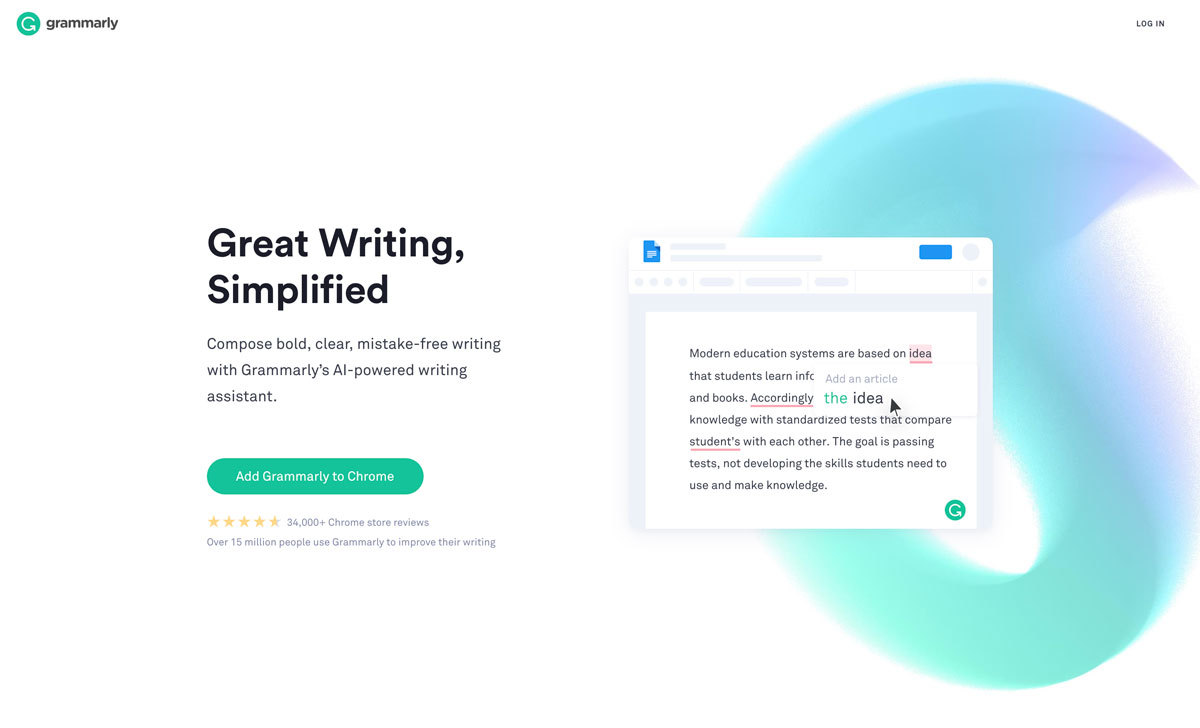D2C content marketing with Grammarly - Luxe Digital
