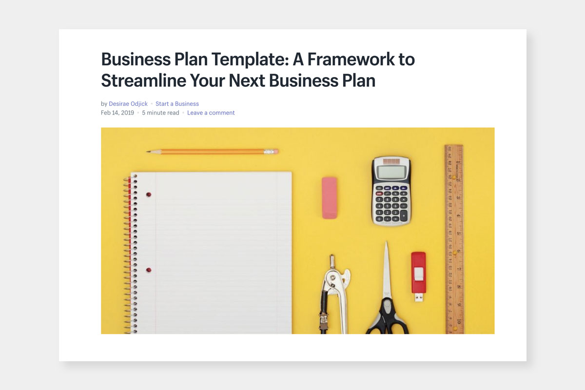 free business plan template for DTC brands - Luxe Digital
