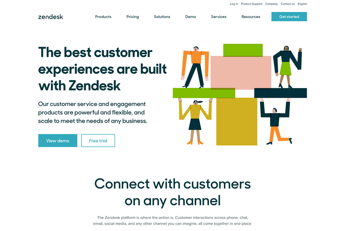 Zendesk ecommerce customer support best D2C - Luxe Digital