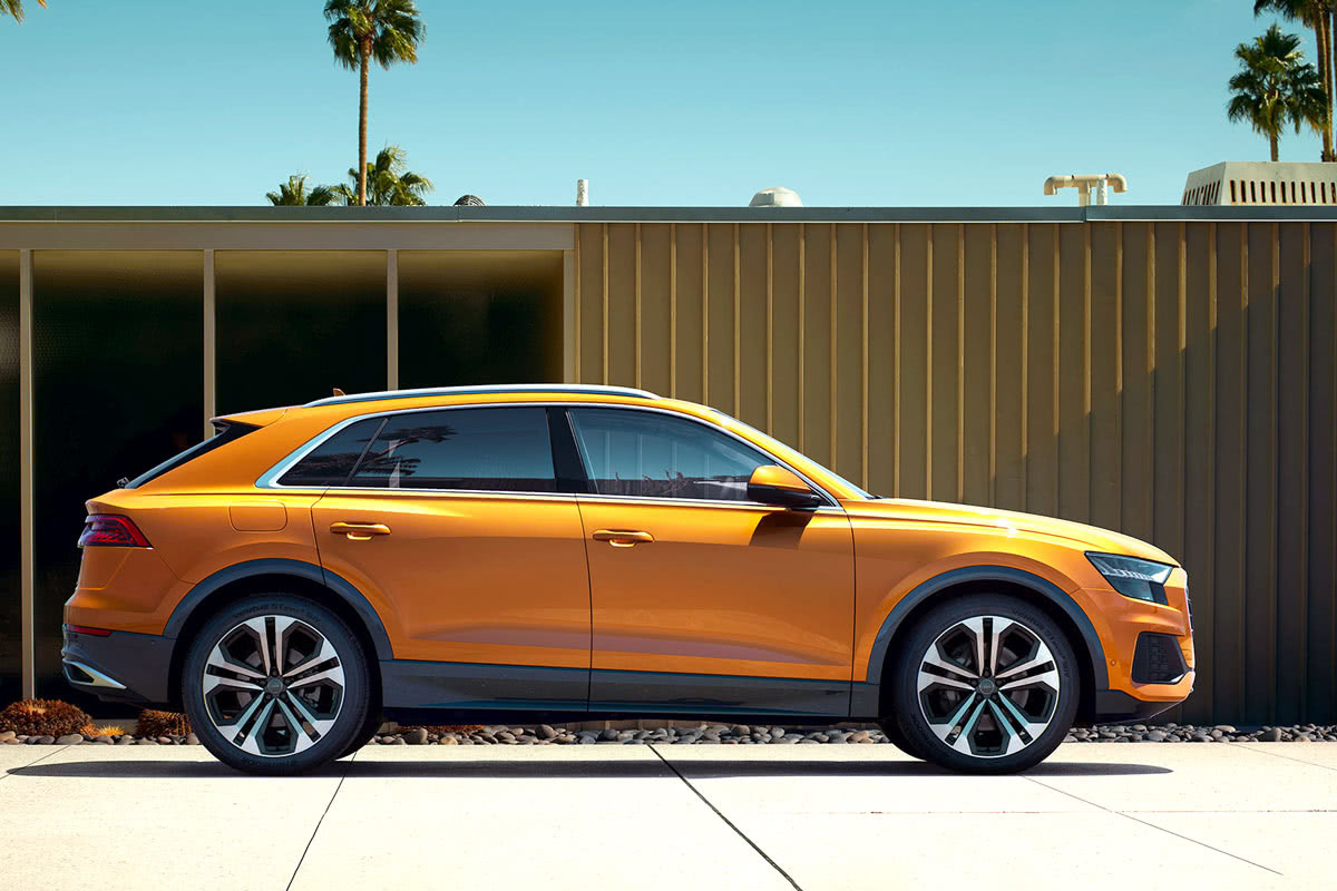 Audi Q8 2020 best luxury SUV - Luxe Digital