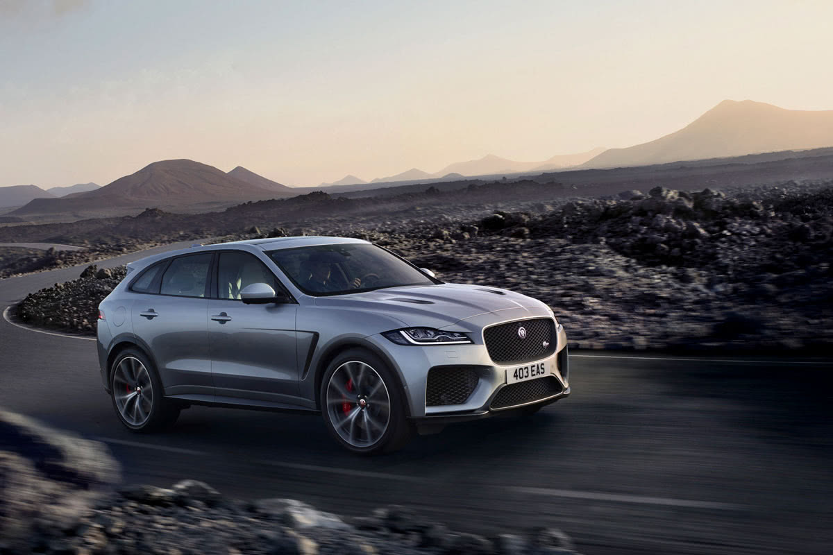 Jaguar F-Pace 2020 best luxury SUV - Luxe Digital