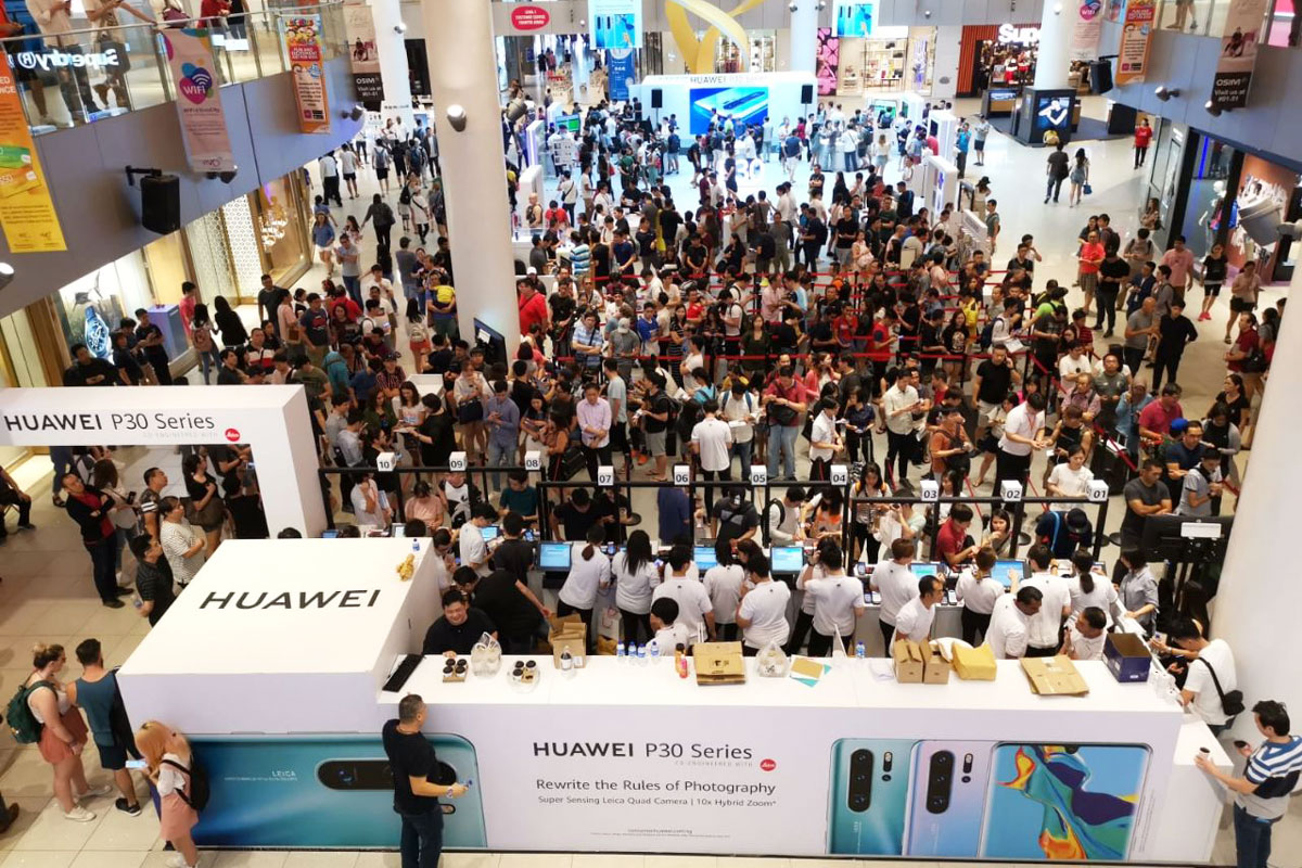 Huawei P30 launch availability Singapore - Luxe Digital