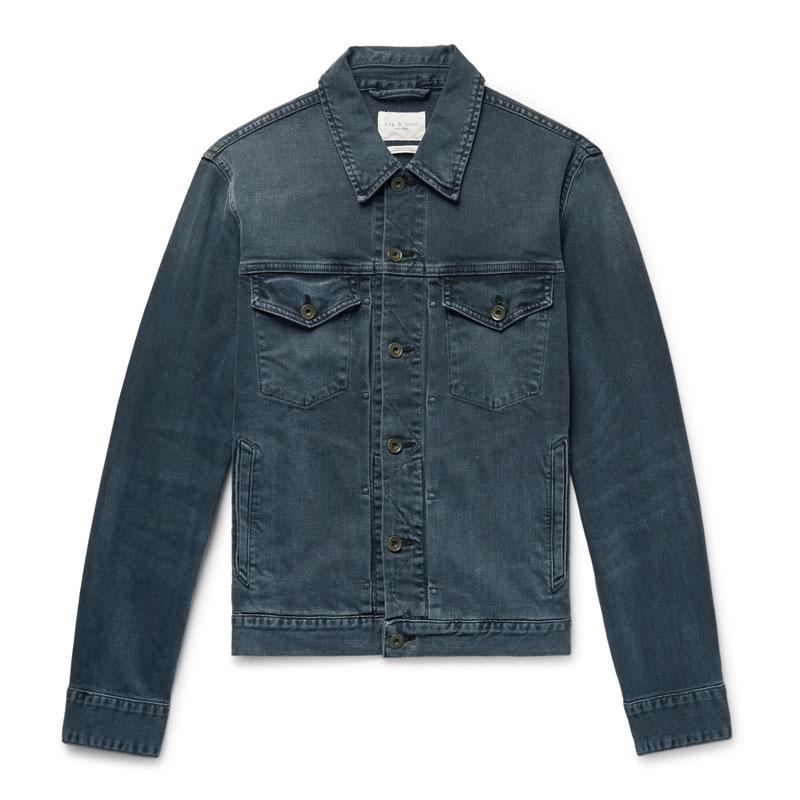 Best Father's Day gift luxury denim jacket - Luxe Digital