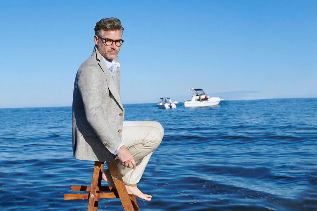Robert Graham best men summer dress shirts luxury - Luxe Digital