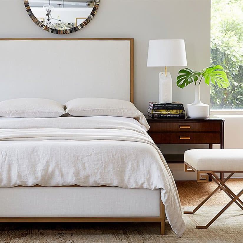 luxury home decor nightstand one kings lane luxe digital