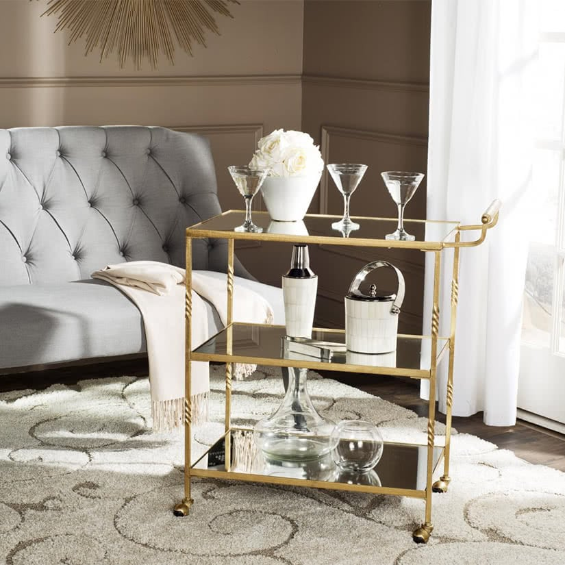 luxury home decor bar cart one kings lane luxe digital