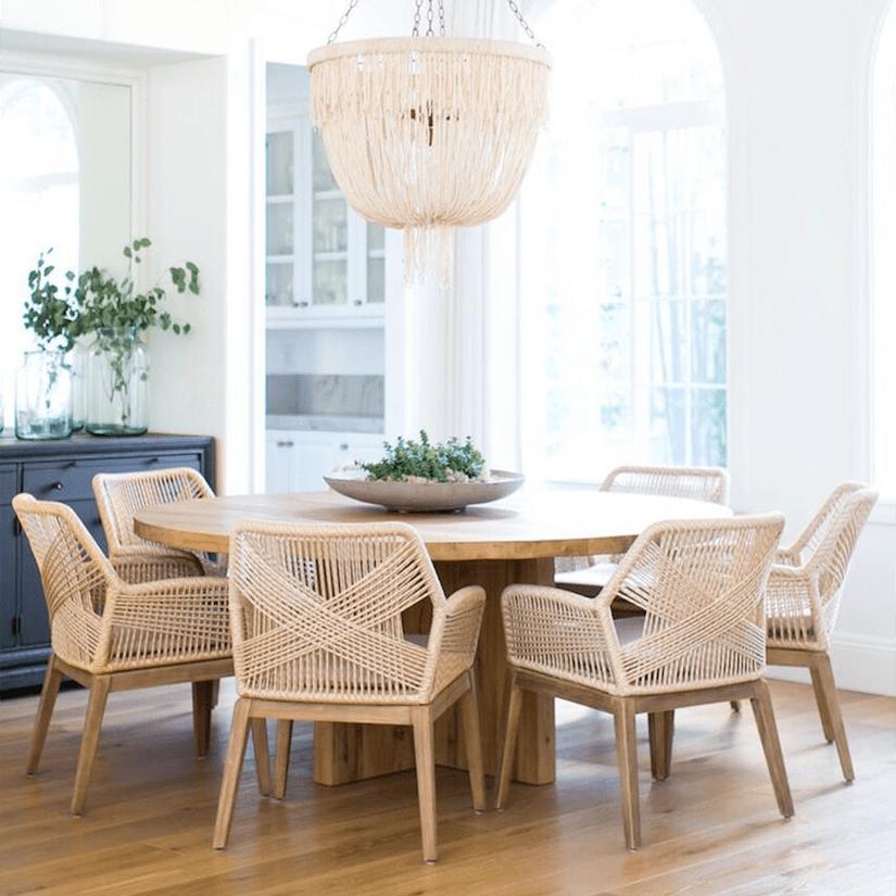 luxury home decor rattan chair one kings lane luxe digital