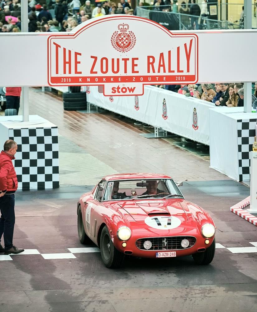 Zoute Grand Prix classic Ferrari Belgium luxury cars - Luxe Digital