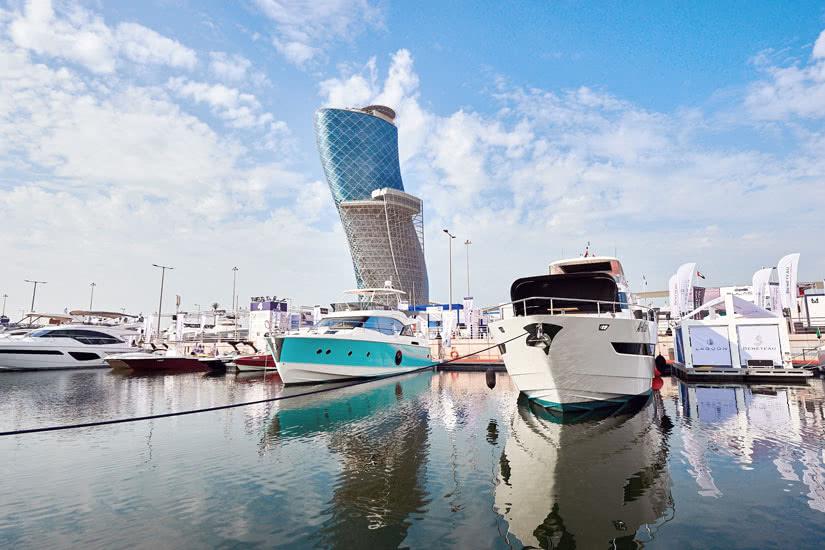 Abu Dhabi International Boat Show 2019 marina luxury yacht - Luxe Digital
