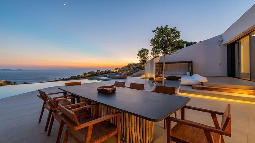 sunset villa groovy agios stefanos mykonos kinglike luxe digital
