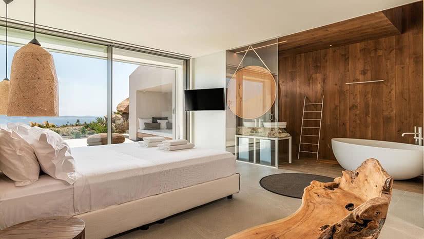 luxury villa groovy agios stefanos mykonos kinglike luxe digital