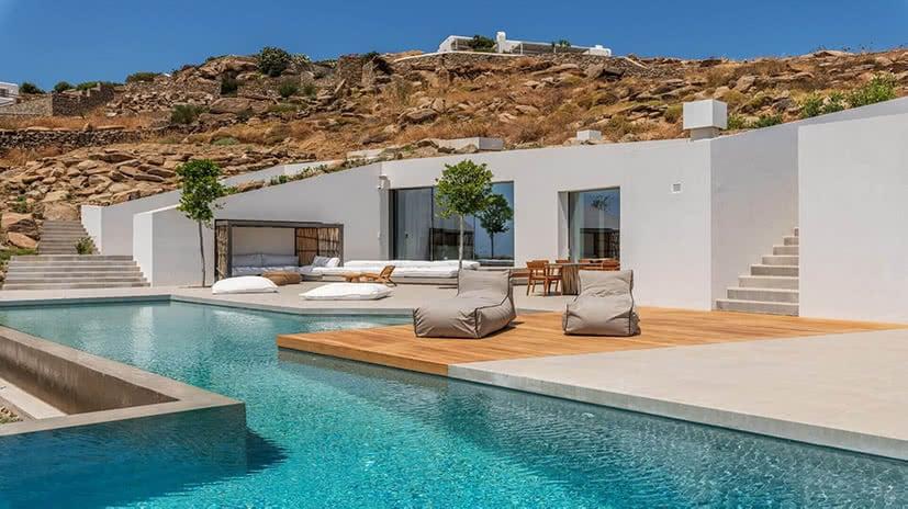 luxury villa groovy agios stefanos mykonos greece kinglike luxe digital