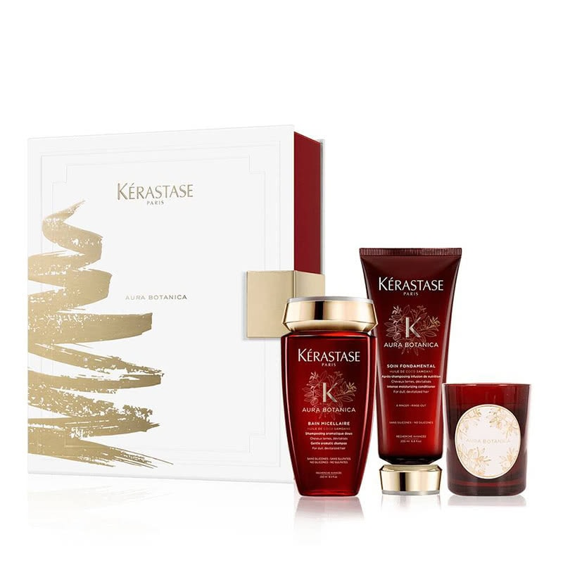 best luxury gift women Lerastase giftset aura botanica - Luxe Digital