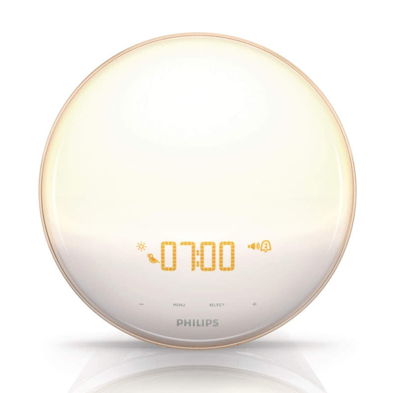 best luxury gift women Philips morning wake-up alarm light - Luxe Digital