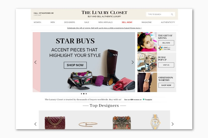 best luxury resale websites The LuxuryCloset - Luxe Digital