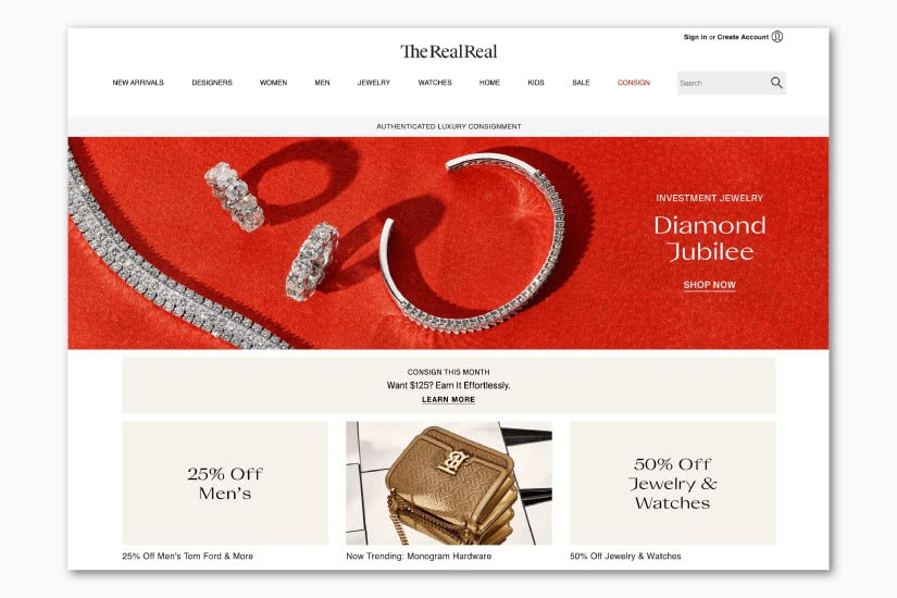 best luxury resale websites TheRealReal - Luxe Digital