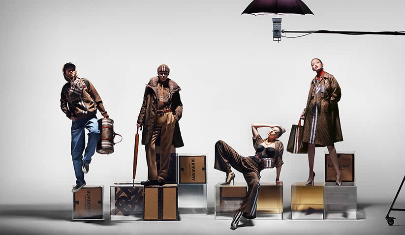 luxury resale retail transformation burberry fashion luxe digital