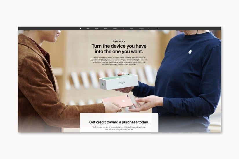 apple trade-in program luxury resale luxe digital