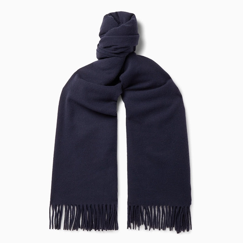 best gift for men luxury wool scarf luxe digital