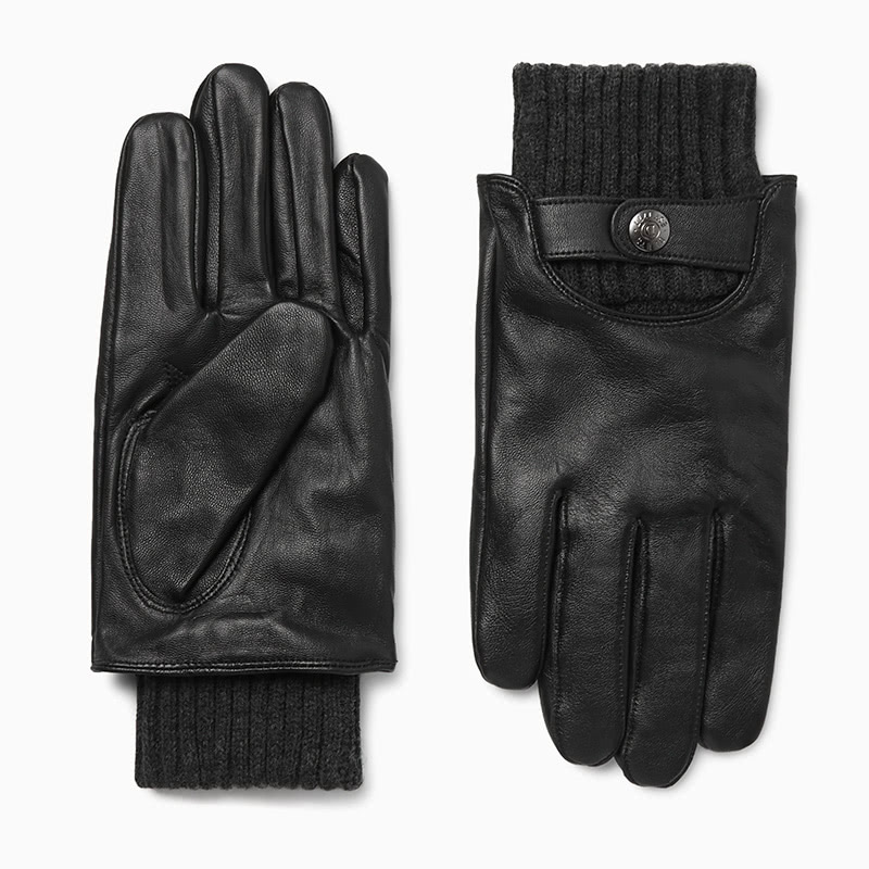best gift for men touchscreen leather gloves luxe digital