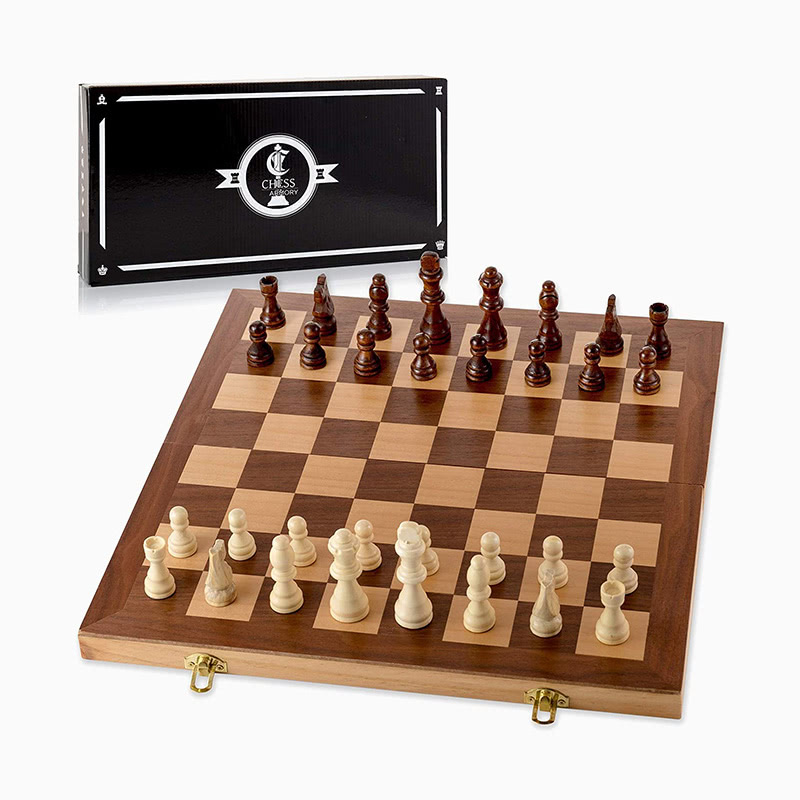 best gift for men wooden chess board luxe digital