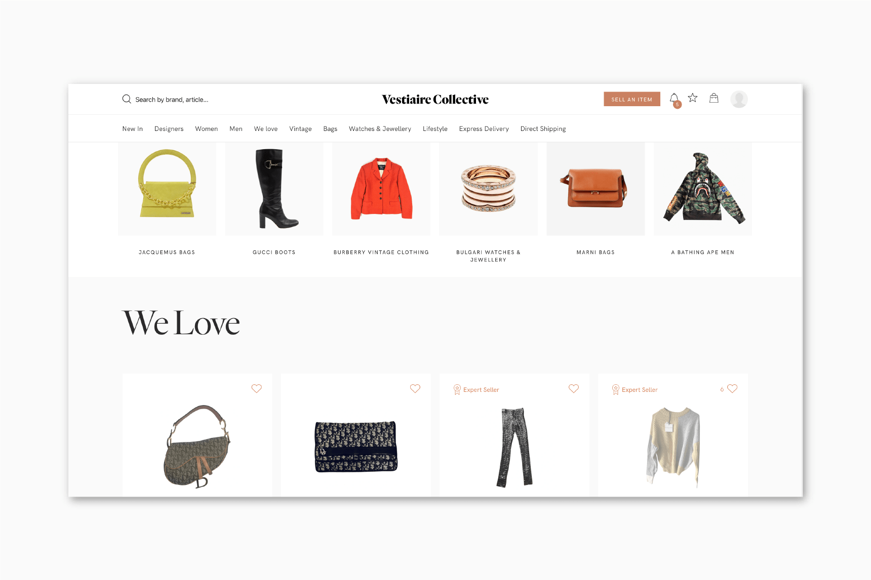 luxury resale retail transformation vestiaire collective luxe digital