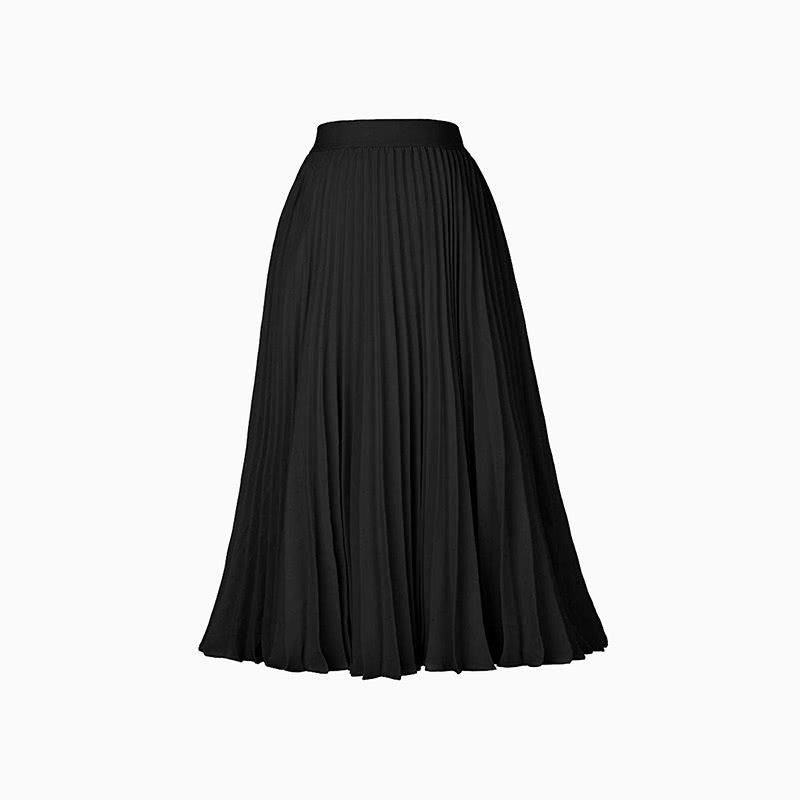 pleated skirt women business casual style luxe digital