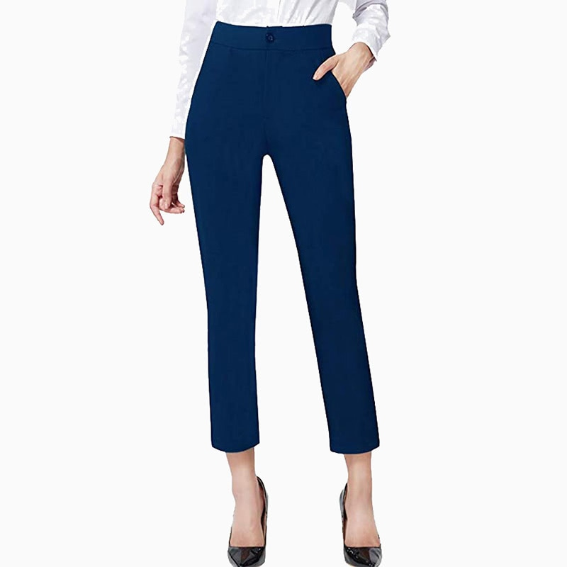 ankle cropped pants women business casual style luxe digital